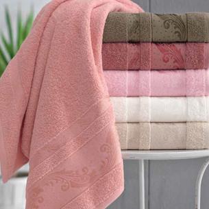 Набор полотенец для ванной 6 шт. Pupilla LAVORE хлопковая махра 70х140