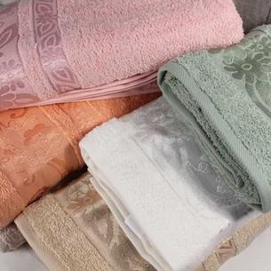 Набор полотенец для ванной 6 шт. Pupilla PAPATYA хлопковая махра 50х90