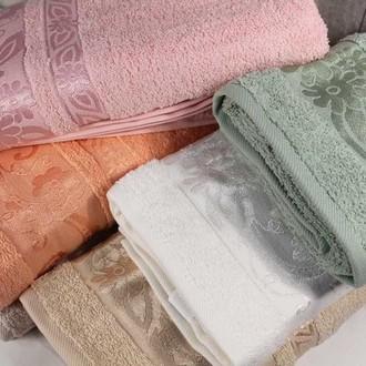 Набор полотенец для ванной 6 шт. Pupilla PAPATYA хлопковая махра