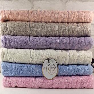 Набор полотенец для ванной 6 шт. Luzz ARMA хлопковая махра