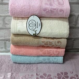 Набор полотенец для ванной 6 шт. Luzz BEGONYA хлопковая махра 50х90
