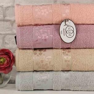 Набор полотенец для ванной 6 шт. Luzz KARDELEN хлопковая махра 50х90