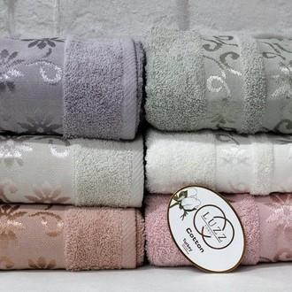 Набор полотенец для ванной 6 шт. Luzz PAPATYA хлопковая махра