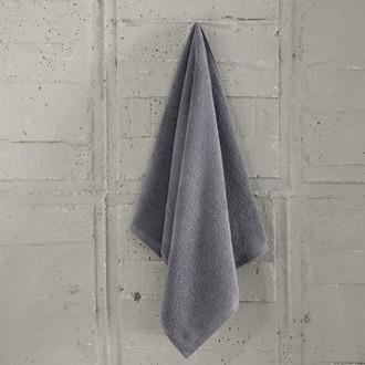 Полотенце для ванной Karna ARKADYA хлопковый микрокоттон серый