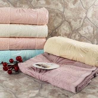 Набор полотенец для ванной 6 шт. Bulteks MANOLYA хлопковая махра