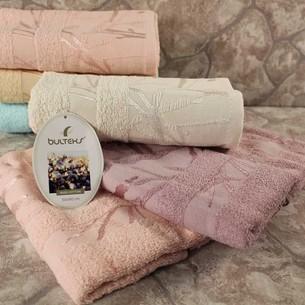 Набор полотенец для ванной 6 шт. Bulteks BAMBOO хлопковая махра 70х140