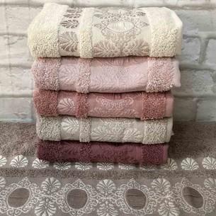 Набор полотенец для ванной 6 шт. Pupilla HEIDI DRAY хлопковая махра 70х140