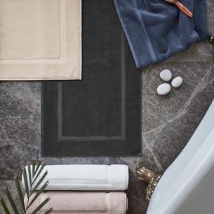 Коврик для ванной Soft Cotton NODE хлопковая махра синий 50х90