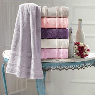 Набор полотенец для ванной 6 шт. Pupilla CARMEN хлопковая махра 70х140
