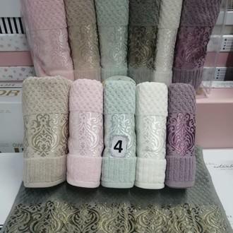 Набор полотенец для ванной 6 шт. Cestepe LUX COTTON ELLA хлопковая махра