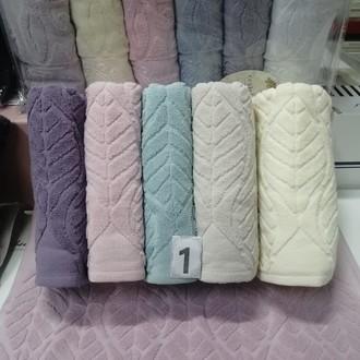Набор полотенец для ванной 6 шт. Cestepe LUX COTTON SEHRAZAT хлопковая махра