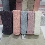 Набор полотенец для ванной 6 шт. Cestepe LUX COTTON SENFONI хлопковая махра 70х140, фото, фотография