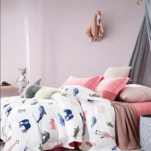 Детское постельное белье Tango MOMAE69 хлопковая фланель 1,5 спальный