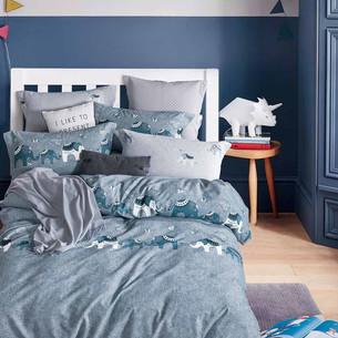 Детское постельное белье Tango MOMAE81 хлопковая фланель 1,5 спальный
