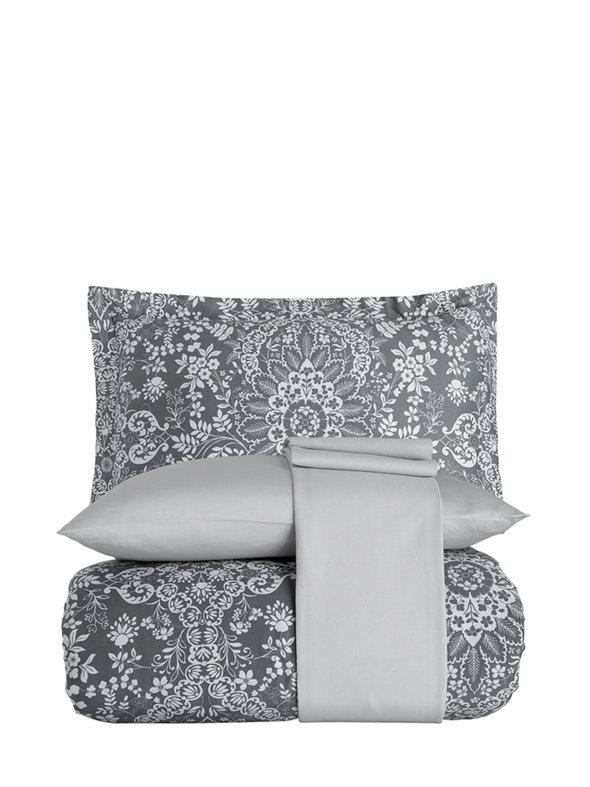 Постельное белье Karna EXCLUSIVE PALATSO хлопковый сатин 1,5 спальный, фото, фотография