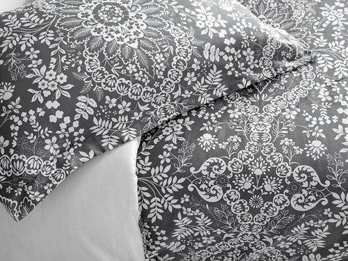 Постельное белье Karna EXCLUSIVE PALATSO хлопковый сатин семейный, фото, фотография