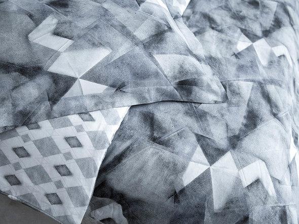 Постельное белье Karna EXCLUSIVE ORION хлопковый сатин евро, фото, фотография
