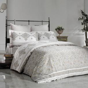 Постельное белье Karna EXCLUSIVE PETRA хлопковый сатин 1,5 спальный