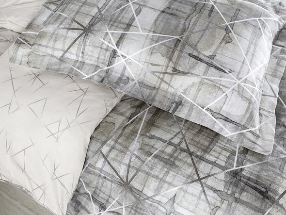 Постельное белье Karna EXCLUSIVE PLEGI хлопковый сатин семейный, фото, фотография