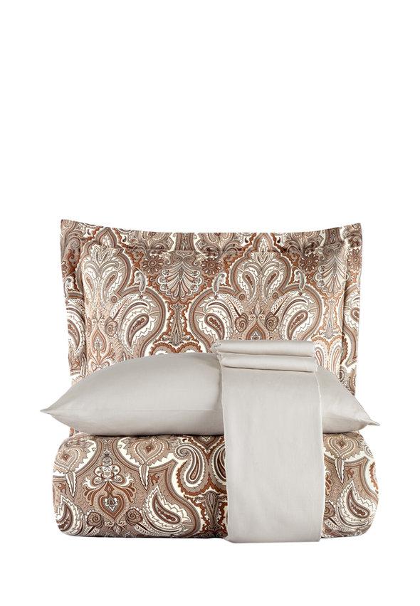 Постельное белье Karna EXCLUSIVE ROYAL хлопковый сатин евро, фото, фотография