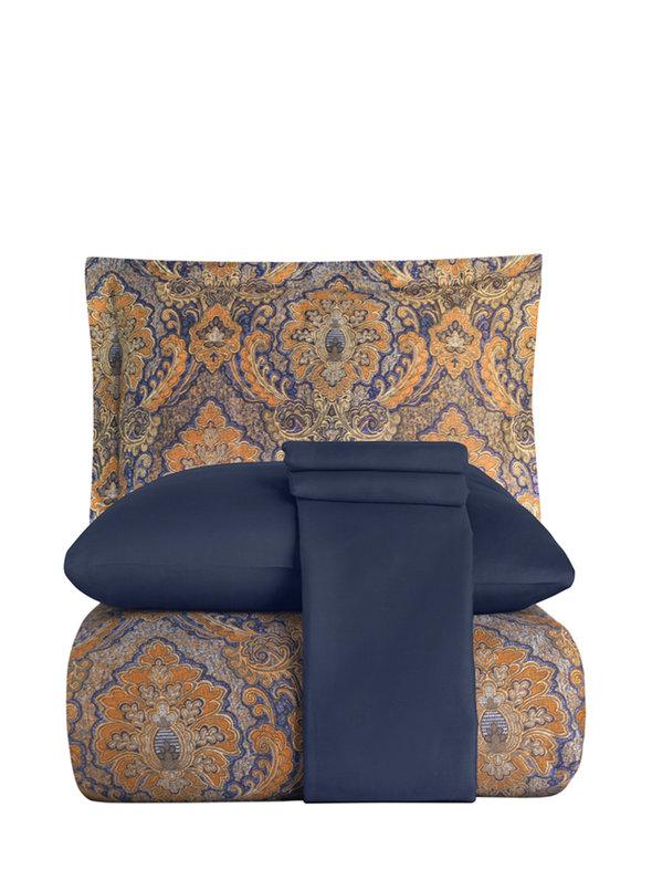 Постельное белье Karna EXCLUSIVE SULTAN хлопковый сатин семейный, фото, фотография