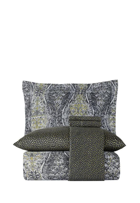 Постельное белье Karna EXCLUSIVE GAUS хлопковый сатин 1,5 спальный, фото, фотография