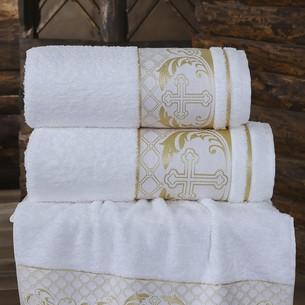 Полотенце для крещения Karna SAINT хлопковая махра 50х90
