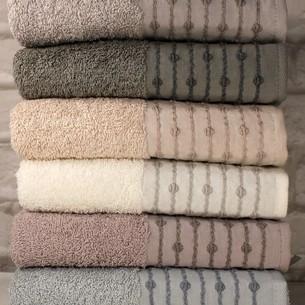 Набор полотенец для ванной 6 шт. Pupilla LONA хлопковая махра 70х140