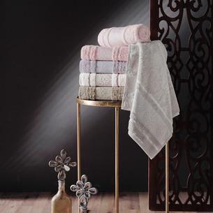 Набор полотенец для ванной 6 шт. Pupilla NEPAL хлопковая махра 50х90