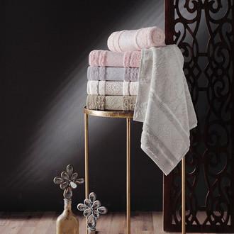 Набор полотенец для ванной 6 шт. Pupilla NEPAL хлопковая махра