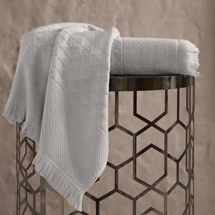Полотенце для ванной Karna MONARD бамбуковая махра бежевый 70х140