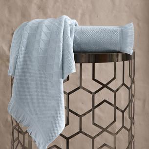 Полотенце для ванной Karna MONARD бамбуковая махра ментол 70х140