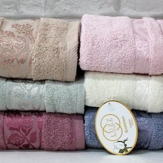 Набор полотенец для ванной 6 шт. Luzz CINAR хлопковая махра