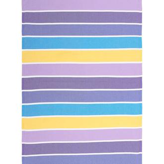 Полотенце пештемаль для пляжа, сауны, бани Begonville CLASSIC HALEY хлопок purple riot