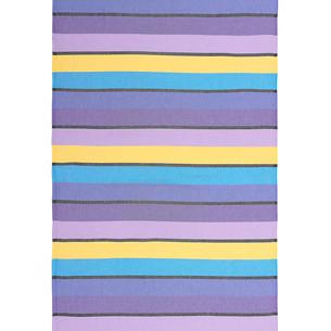 Полотенце пештемаль для пляжа, сауны, бани Begonville CLASSIC CORSICA хлопок purple riot 100х180