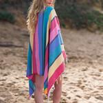 Полотенце пештемаль для пляжа, сауны, бани Begonville CLASSIC CORSICA хлопок smootie 100х180, фото, фотография