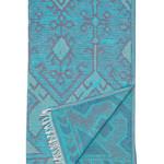 Полотенце пештемаль для пляжа, сауны, бани Begonville DREAMSCAPE CENTURY хлопок turquoise 90х175, фото, фотография