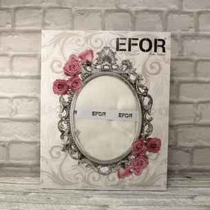 Скатерть прямоугольная Efor ALDEN жаккард кремовый 160х220