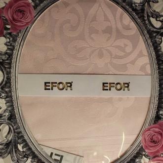 Скатерть прямоугольная Efor ARTEMIS жаккард сухая роза