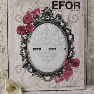 Скатерть прямоугольная Efor ECRIN жаккард белый 160х220