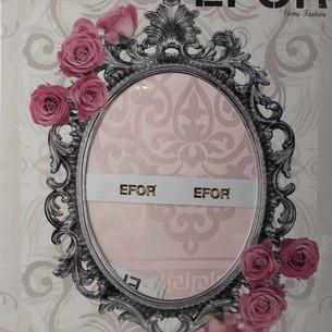 Скатерть прямоугольная Efor ECRIN жаккард розовый 160х220