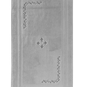 Коврик Soft Cotton BARON хлопковая махра серый 50х90