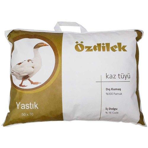 Подушка Ozdilek гусиный пух, гусиное перо 70х70, фото, фотография