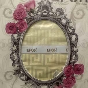 Скатерть прямоугольная Efor IVY жаккард золотисто-бежевый 160х300