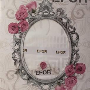 Скатерть прямоугольная Efor IVY жаккард белый 160х300