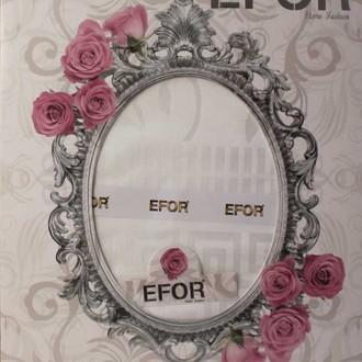 Скатерть прямоугольная Efor IVY жаккард белый