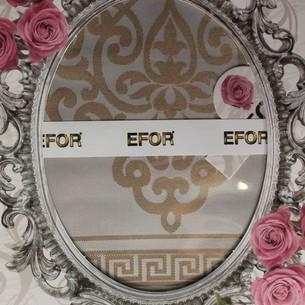 Скатерть прямоугольная Efor MELTEM жаккард кофейный 160х220
