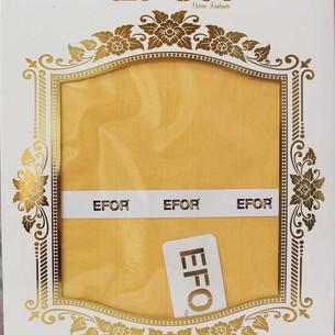 Скатерть прямоугольная Efor POLY жаккард жёлтый 160х220