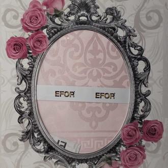 Скатерть прямоугольная Efor SAFIR жаккард розовый
