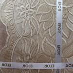Скатерть прямоугольная Efor SAHASER жаккард кофейный 160х220, фото, фотография